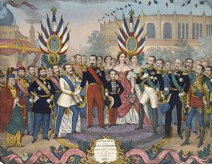 Emperor Napoléon III, welcoming the great and good to the 1867 world expo in Paris