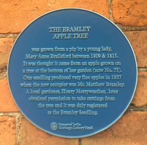 Bramley apple tree plaque from www.storytellergarden.co.uk