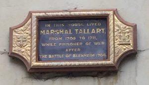 Tallard plaque