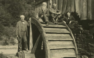 The Vagabonds on a camping trip in 1923. From the collections of The Henry Ford
